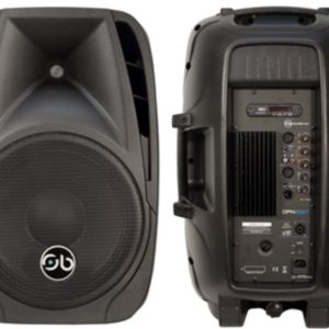 "Soundbarrier DPN-15BT 15"" Active, 600W, Full Range Loudspeaker with USB / SD / BT Wireless"