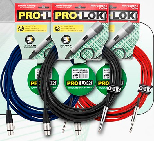 PRO-LOK Microphone 25' Cable