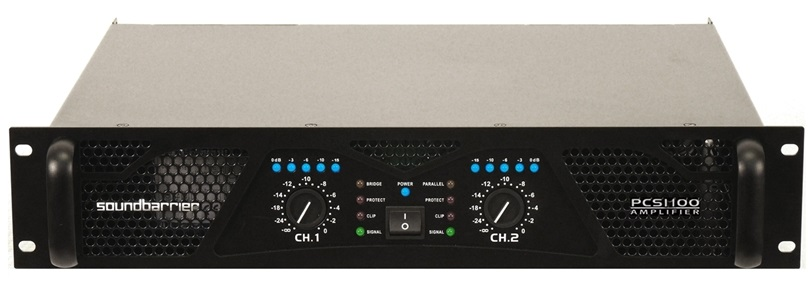 Soundbarrier PCS-1100 Professional Amplifier