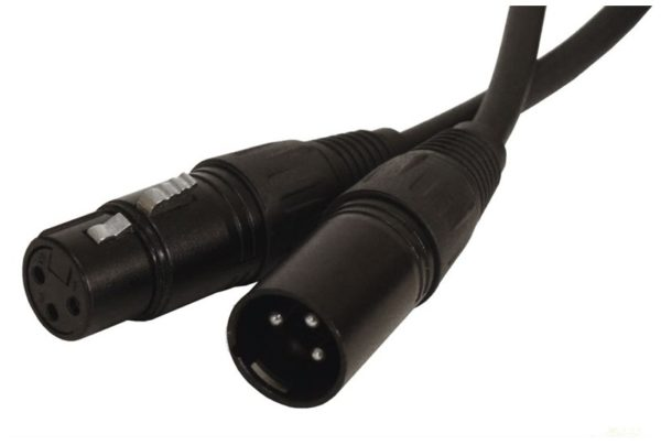 Soundbarrier XLRm to XLRf Microphone Cable (50 ft) with PVC Jacket