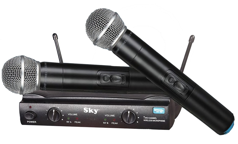 SDM 5502A UHF Wireless Mic System